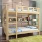 四川实木公寓床 成都公寓床 学生宿舍双层床 新款优质 贝贝乐家具