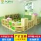 幼儿园家具幼儿园组合柜收纳柜实木区域组合柜幼儿园实木储物柜