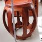 木隼世家红木鼓凳实木家具板凳新中式室内家居矮凳换鞋凳榫卯结构
