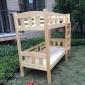 拉萨幼儿园床定制批发,贝贝乐简约现代实木家具放心省心
