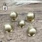 纯铜拉手 现代简约橱柜门全铜单孔小拉手 新中式抽屉金色圆把手