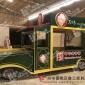 供应户外家具 游乐园移动售货车 手推车 售卖车 实木家具